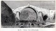 Palermo - Il Ponte dell'Ammiraglio in un'incisione del 1893