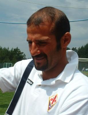 Giuseppe Pancaro nel 2005 ai tempi della Fiorentina