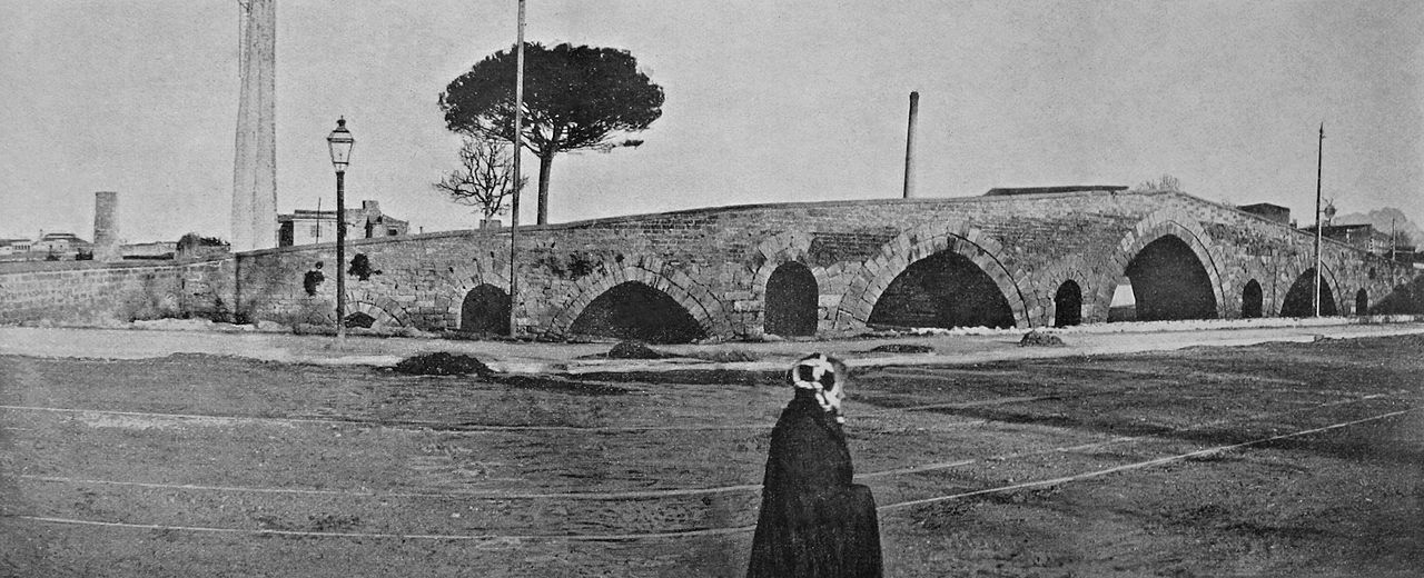 Palermo, Ponte dell'Ammiraglio 1910
