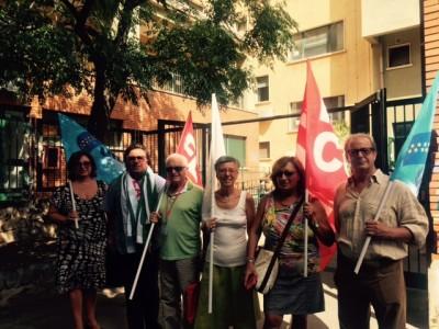 Protesta sindacati catania cavour