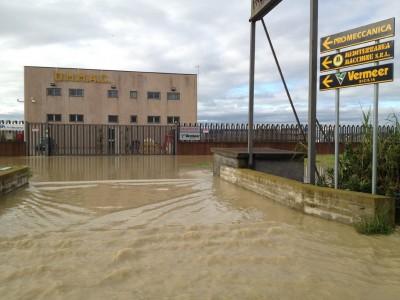 Zona industriale Catania (foto d'archivio febbraio 2012)