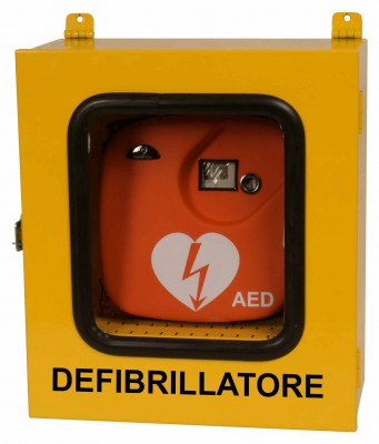 02 C - teca per defibrillatore
