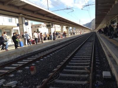 Il binario 3 della Stazione di Palermo