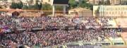La curva nord allo stadio Massimino durante Catania - Catanzaro