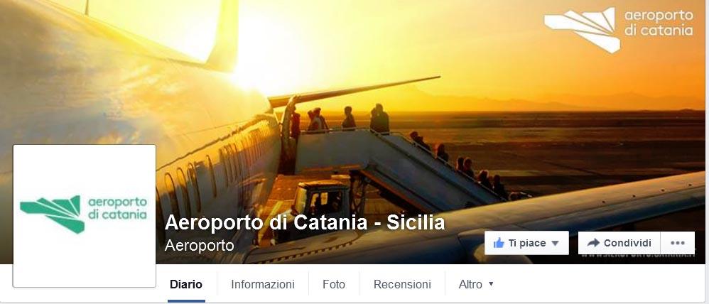 Aeroporto Catania su Facebook