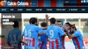 Calcio Catania Natale in zona salvezza