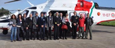 La commissione Fondo Frontiere in visita alla Guardia Costiera