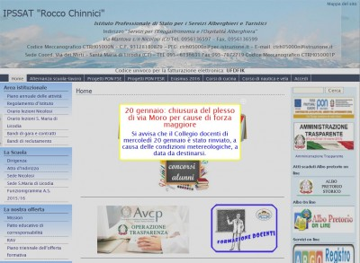 Home page Ist. Rocco Chinnici Nicolosi