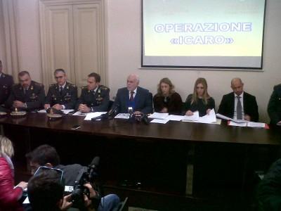 """La conferenza stampa di stamattina sull'arresto di Nino Pulvirenti. Operazione """"Icaro"""" su bancarotta fraudolenta di Wind Jet"""