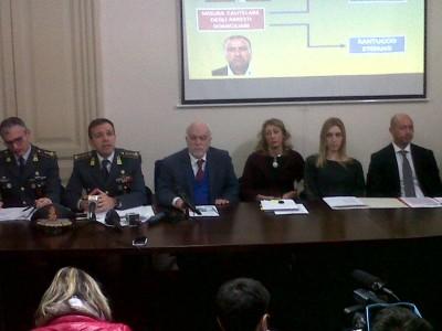 """La conferenza stampa di stamattina sull'arresto di Nino Pulvirenti. Operazione """"Icaro"""" per bancarotta fraudolenta di Wind Jet"""