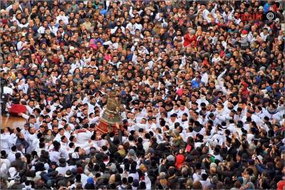Devoti alla festa di Sant'Agata