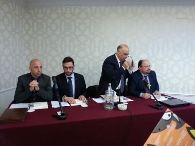 Catania Bad company Amt, Christian Petrina, Luca Sagneri, Peppino Idonea e Rocco Todero