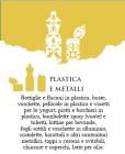 Plastica e metalli, conferimento venerdì
