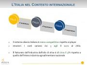 Olio, l'italia nel contesto internazionale  (dati Ismea)