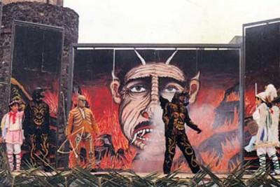 """La rappresentazione della """"Diavolata e Angelicata"""" di Adrano. Iscritta come patrimonio indisponibile dell'umanità"""