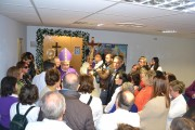 Apertura Porta Santa all'ospedale Cannizzaro con l'arcivescovo di Catania mons Gristina