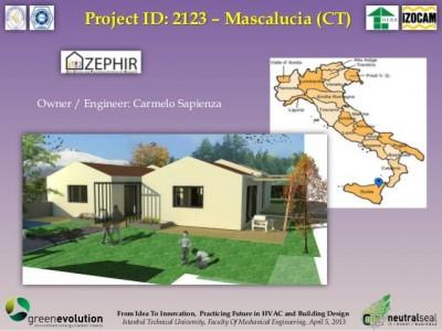 03 A - Il progetto della Passivhaus di Mascalucia