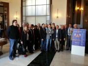 I rappresentanti delle 28 aziende che andranno al Vinitaly