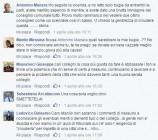 I commenti del litigio tra Manlio Messina e Lanfranco Zappalà