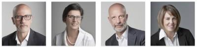 I fondatori del progetto Mediterraneo Sicilia Europa. Caserta, Di Maria, Premoli e Averna