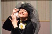 Gabriella Romano - (la vedova Caciulli)