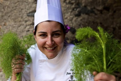 La chef Giulia Carpino