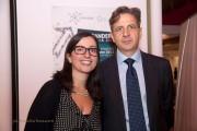 Cristina Scuderi e Turi Abate, direttore e presidente di Compagnia delle Opere della Sicilia Orientale