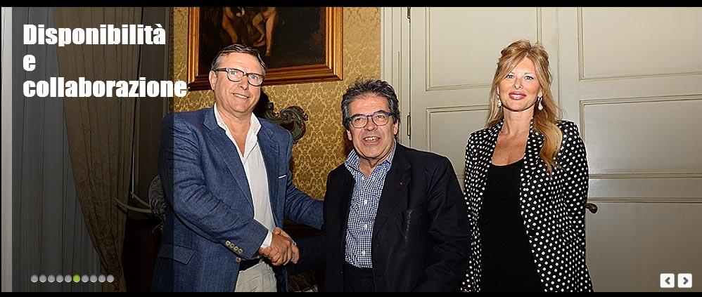 Lo Monaco incontra Bianco e la Scialfa