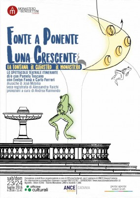 Fonte a Ponente Luna crescente, locandina