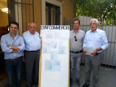 Confcommercio, Saguto, Guglielmo, Sorbello e Trovato con il Piano per la Mobilità per Catania