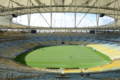 Stadio Maracanã, dove si terranno le cerimonie di apertura e chiusura e le finali del torneo di calcio (ph Wikipedia)