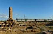 Binari della cultura, treno dei templi
