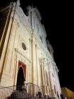La facciata della Chiesa del SS. Salvatore a Militello