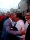 Il presidente Crocetta con Adolfo Messina