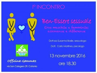 Benessere sessuale 13.11.16