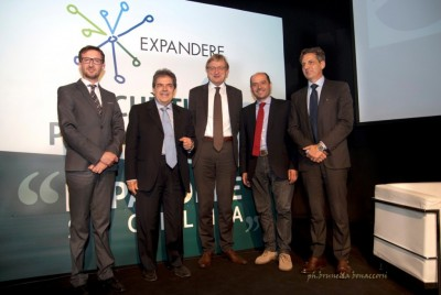 A Expandere 2015 i due sindaci Enzo Bianco e Carlo Caputo