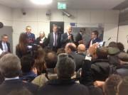 Bianco e Delrio all'inaugurazione tratta della Metro Borgo-Stesicoro