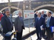 L'inaugurazione del Parcheggio Borsellino