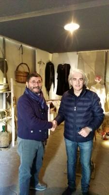 Natale ai Minoriti, Sebastiano Messina e Francesco Tanasi