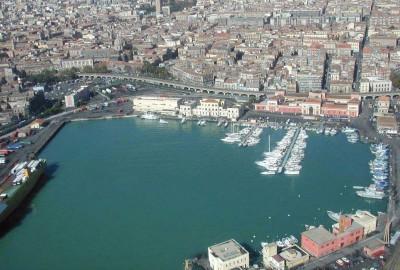 La zona del Porto di Catania