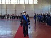 Agostino Baldacchini comandante di fregata