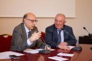 Carmelo Nicoloso e Prof. Roberto Fallico