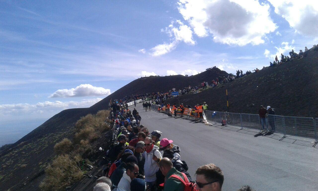 Giro d'Italia, Etna (ph Gianluca Matarazzo)
