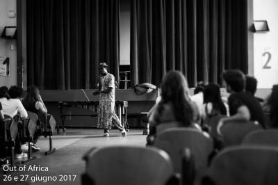 02 C - Jalì Diabate durante il workshop al Liceo Musicale Turrisi Colonna_ph Andrea A. Maccarrone