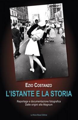06 C - Copertina L'istante e lastoria di Ezio Costanzo
