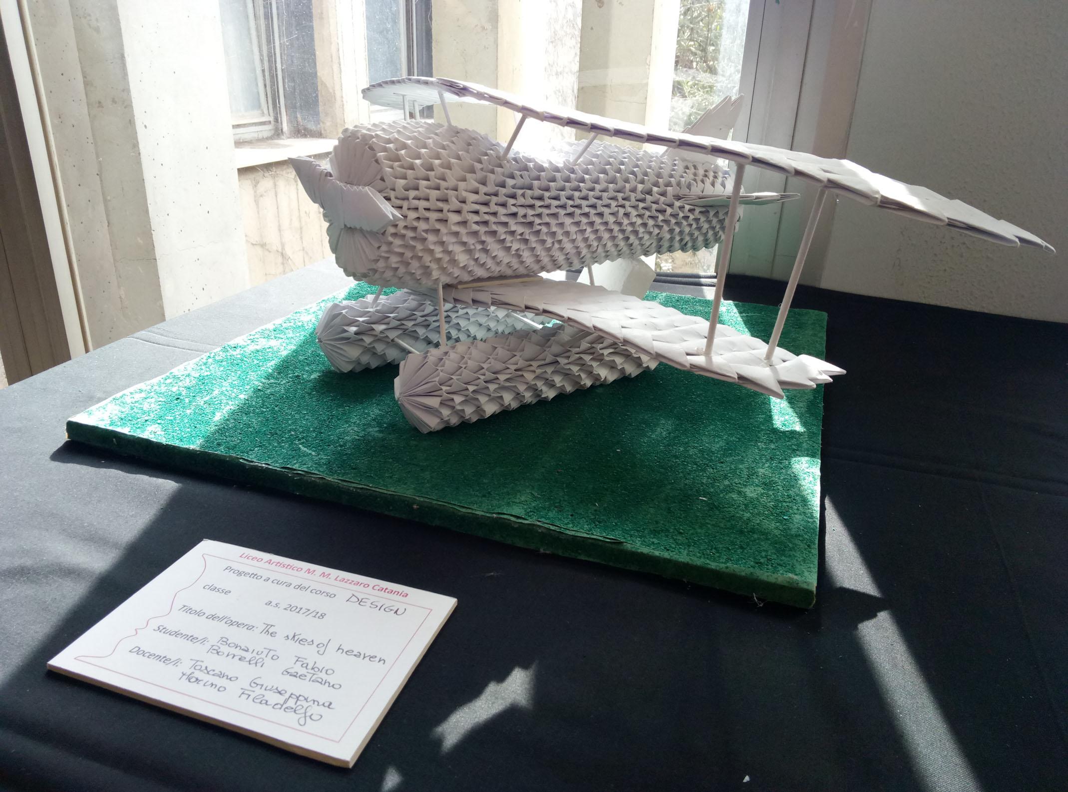 IX Mostra aeronautica, Istituto A. Ferrarin di Catania