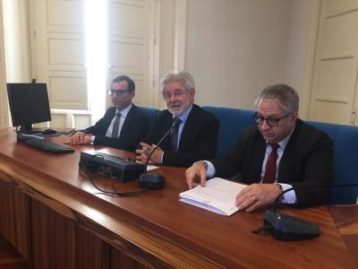 Da sinistra: Politino, Agen e Pagliaro