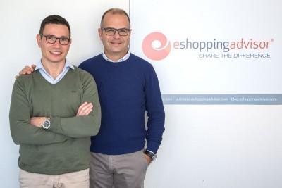 Carboni e Ghiani founder eShoppingAdvisor (©-foto-S.Novellu)