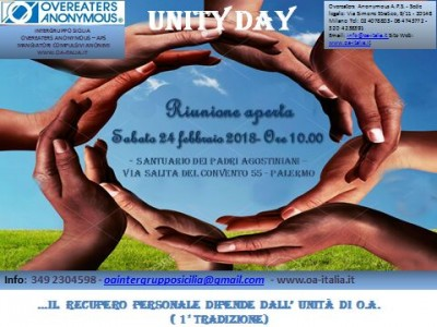 Rinunione aperta sabato 24 febbraio a Palermo