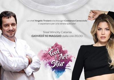 Invito Catania Food Art and Star